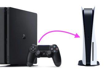 نقل الألعاب والبيانات المحفوظة من PS4 إلى PS5