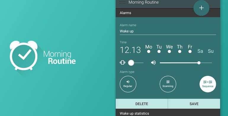 Morning Routine Alarm Clock: Wake up